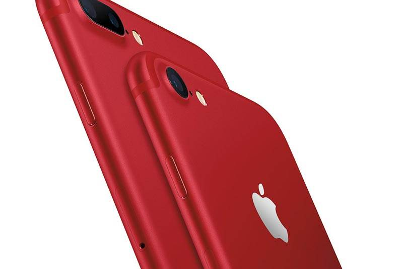 Apple: New Product Red version of the I-phone 7