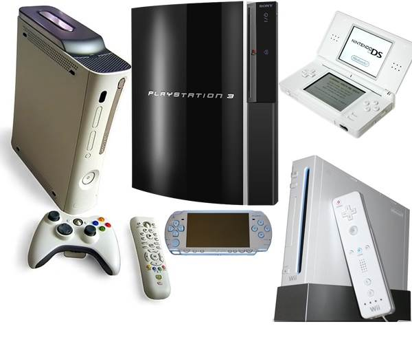 Damaged and Non Functional Consoles