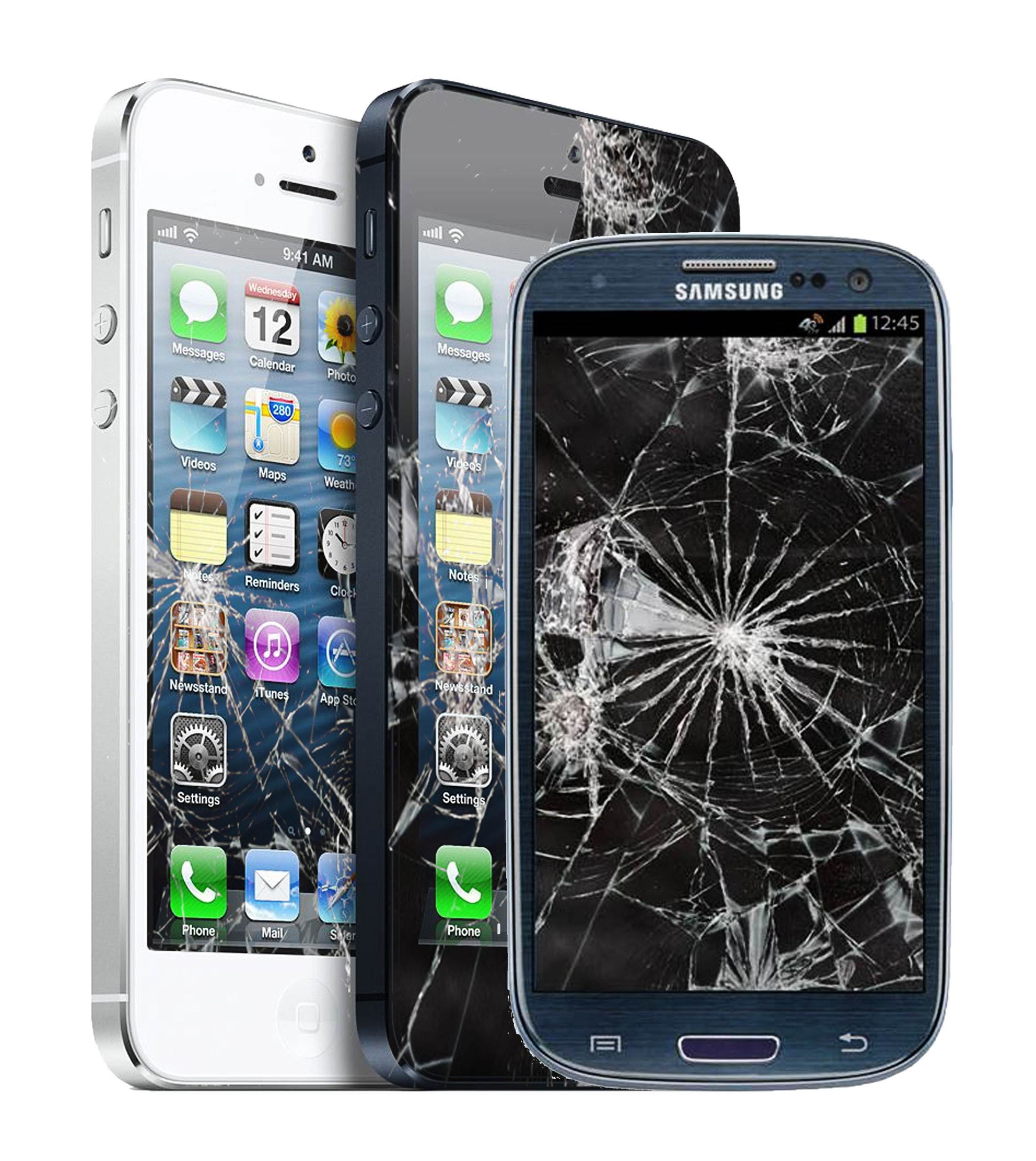 Damaged and Non Functional Cell phones