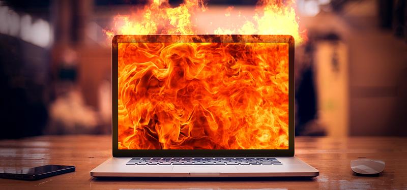υπερθερμανση laptop