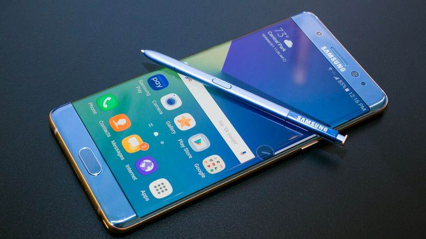 Επισκευή Samsung Galaxy Note 7