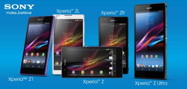 Repair Sony Xperia Z Series