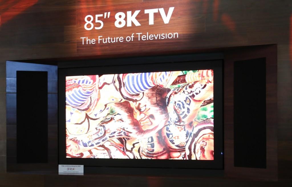 Έρχεται στην Ευρώπη η 8Κ τηλεόραση της Sharp