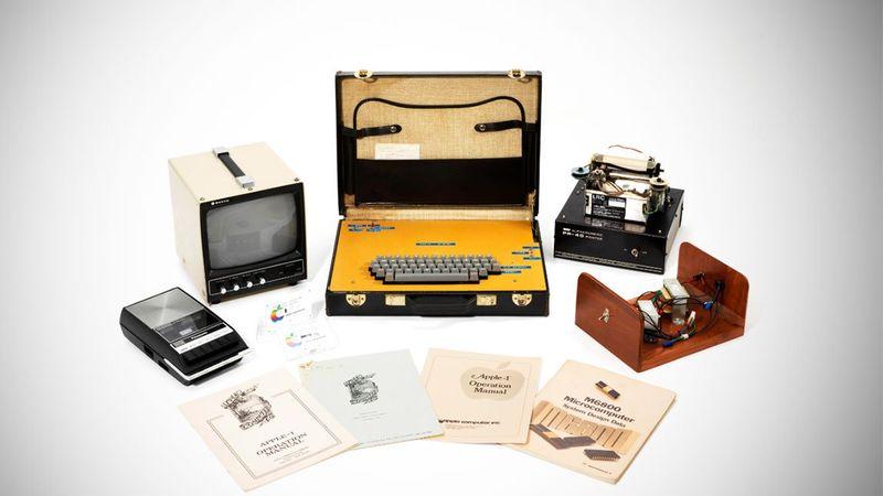 Ο πρώτος Apple υπολογιστής πωλήθηκε έναντι €421.000