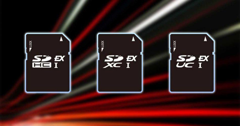 Οι νέες SD Express κάρτες προορίζονται για καταγραφή 8K video