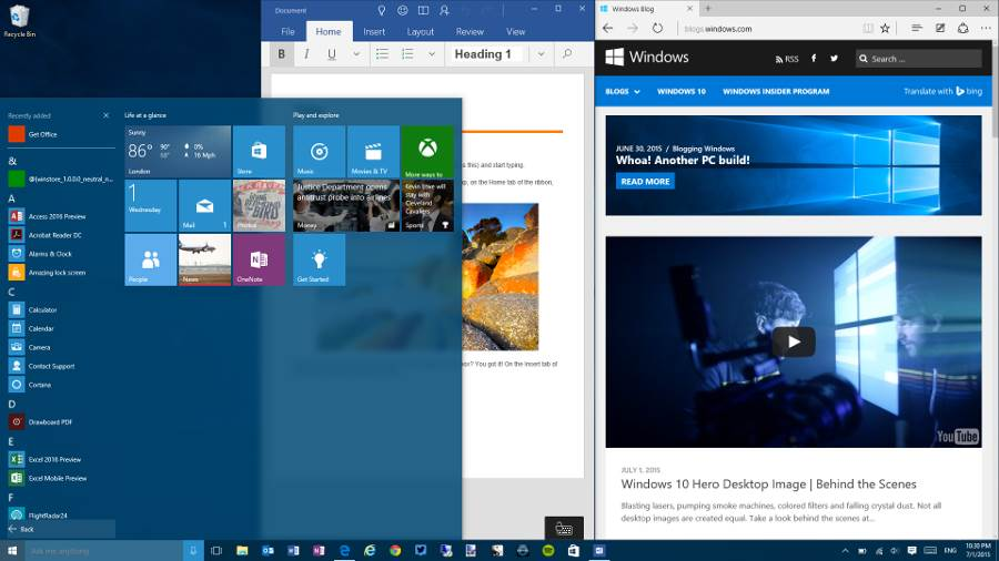 Easy Service - OS showdown: Windows 10 vs Linux