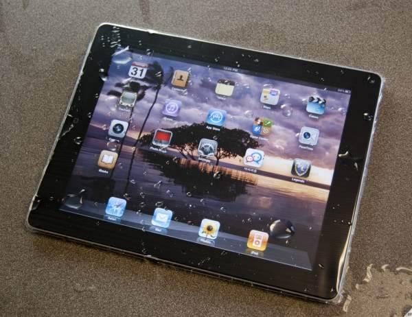 tablet-βρεγμενο